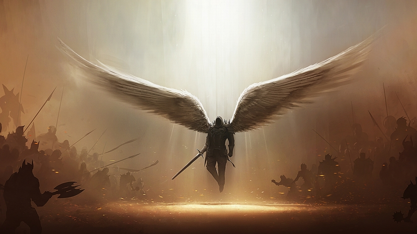 fallen-angel-warrior-phone-wallpapers